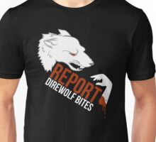 Direwolf bites are dire! Unisex T-Shirt