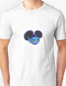 AFRO PUFF PIXIE BLUE T-Shirt