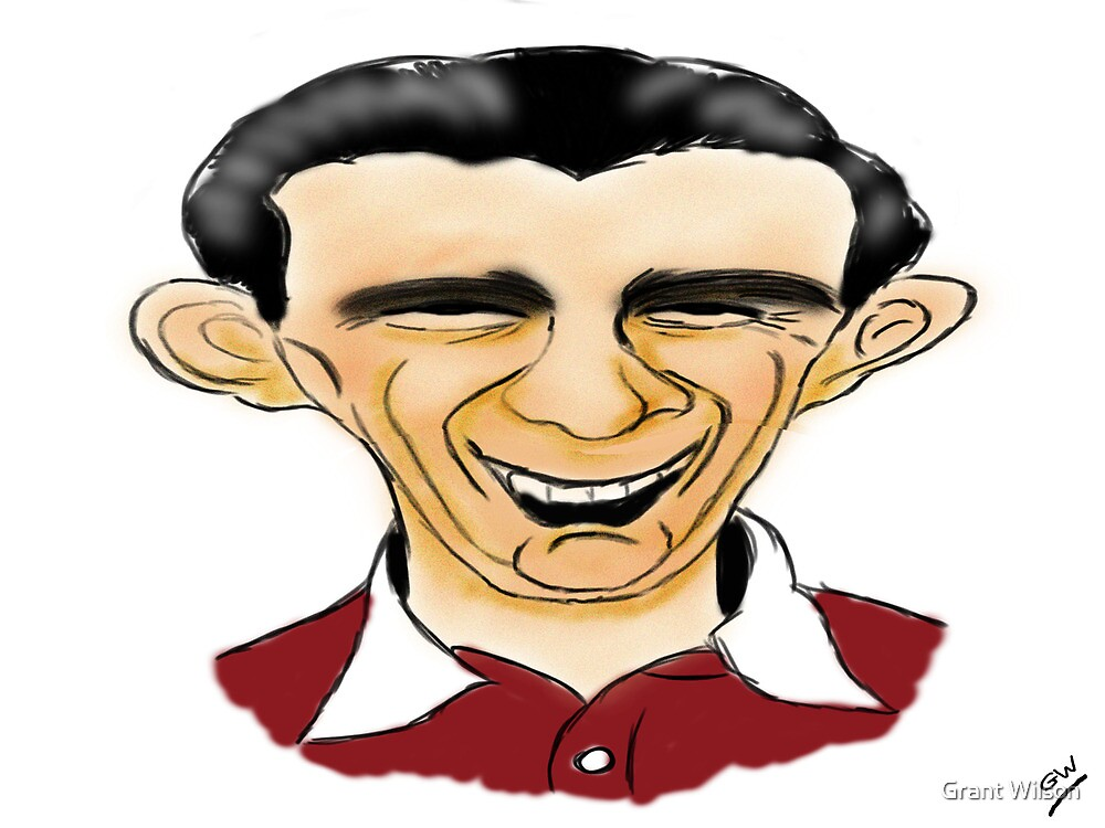 Jimmy Wardhaugh Cartoon Caricature by Grant Wilson