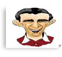 Jimmy Wardhaugh Cartoon Caricature Canvas Print
