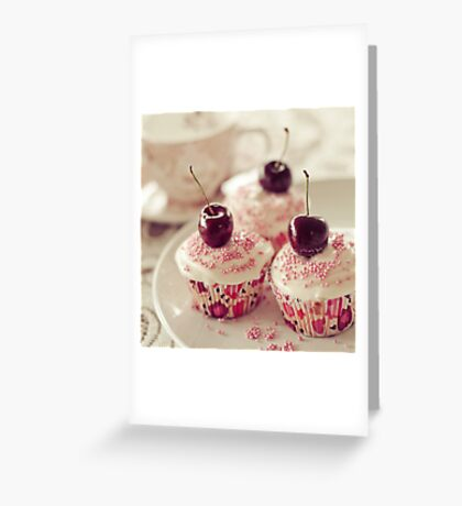 A little cupcake heaven... Greeting Card