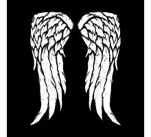 Daryl Dixon Wings - Zombie Photographic Print