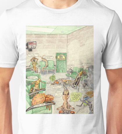 Prisoner's Waiting Room, Bugs Gone Bad Unisex T-Shirt