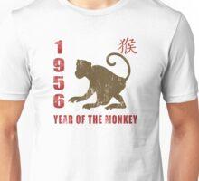 Year of The Monkey 1956 Chinese Zodiac Monkey 1956 Unisex T-Shirt