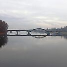 The Bridge Over the River Vah - Piestany, Slovakia by Marius Brecher