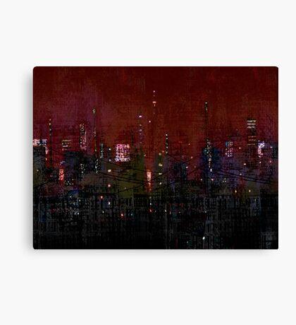 Industrial Complex Canvas Print