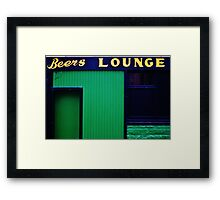 Time for a swift one..? Framed Print