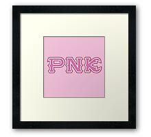 Pledge Python Nu Kappa Framed Print