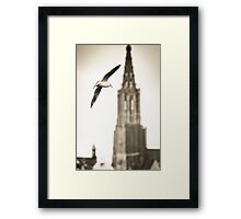 Take me higher Framed Print