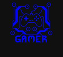 Blue Circuit Gamer Unisex T-Shirt