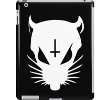 white ZEF Rat iPad Case/Skin