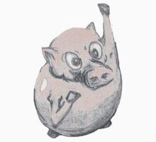 Flying Pig by beastart