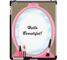 Hello Beautiful! iPad Case/Skin