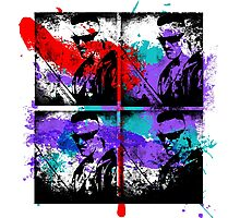 Zef Graffiti God Photographic Print