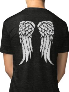 Daryl Dixon Wings - Zombie Tri-blend T-Shirt