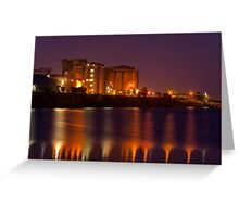 """""""Industrial Reflections"""" Greeting Card"""