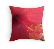 How the Stamen gets it Lusty Dust... Throw Pillow
