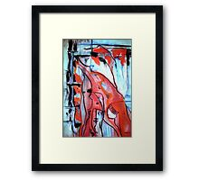 Blood in My Veins Framed Print