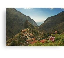 Masca - A Village in theMountains Canvas Print