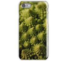 A touch of green iPhone Case/Skin