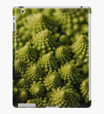 A touch of green iPad Case/Skin
