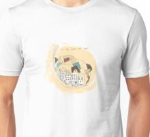 To the moon and back Unisex T-Shirt