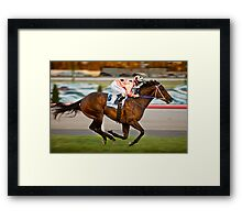 Black Caviar Framed Print