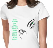 Target locked Womens Fitted T-Shirt