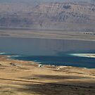 View of the Dead Sea by Marius Brecher