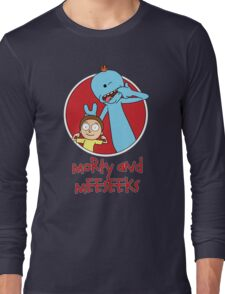Morty and Meeseeks Long Sleeve T-Shirt