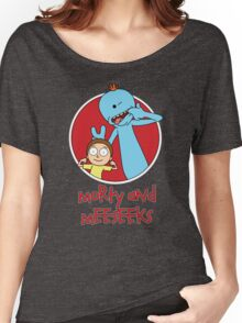 Morty and Meeseeks Women's Relaxed Fit T-Shirt