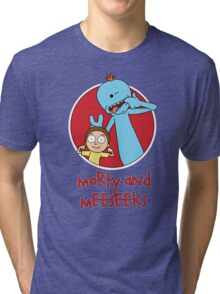 Morty and Meeseeks Tri-blend T-Shirt