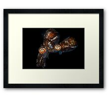 Caught In The Act Framed Print