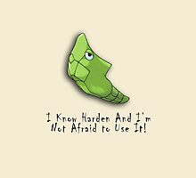 "Metapod ""I Know how to use Harden"" iPhone / iPod Cover by Aaron Campbell"