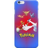 Pokemon Legendary Birds iPhone / iPod Cover iPhone Case/Skin