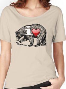 I LOVE BEAR Women's Relaxed Fit T-Shirt