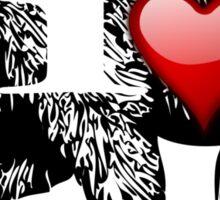 I LOVE BEAR Sticker
