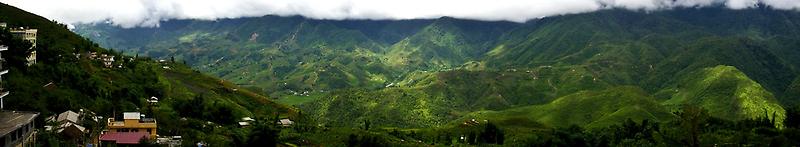 Sa Pa - Panorama by Jordan Miscamble