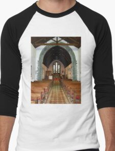 St Eunan 's Cathedral Raphoe, Donegal, Ireland Men's Baseball ¾ T-Shirt