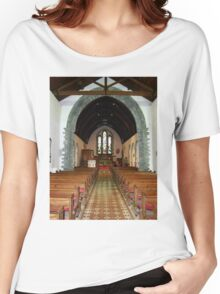 St Eunan 's Cathedral Raphoe, Donegal, Ireland Women's Relaxed Fit T-Shirt