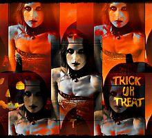 trick or treat by charliethetramp
