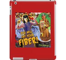 Pulp Fiction: You Will Eat Your Fiber! iPad Case/Skin