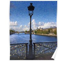Pont des Arts Bridge  Poster
