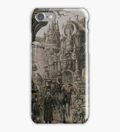 Suidemor, City of the Elder Fey iPhone Case/Skin