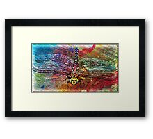 Colorful Dragon Framed Print