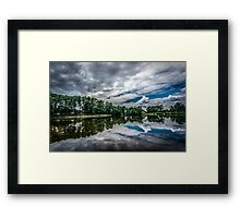 Hayes Lake Framed Print