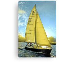 Golden Retreat  Canvas Print