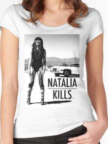 Natalia Kills  Women's Fitted Scoop T-Shirt