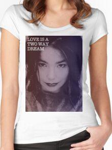 Bjork's Dream Women's Fitted Scoop T-Shirt