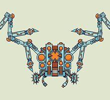 Swiss Army Spider by strangethingsA